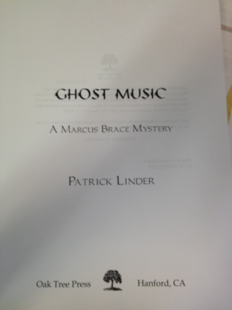 Title page of Ghost Music